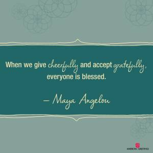 AG FB Maya Quote December