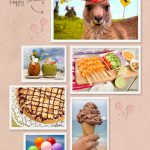 Hoppy Birthday Mood Board