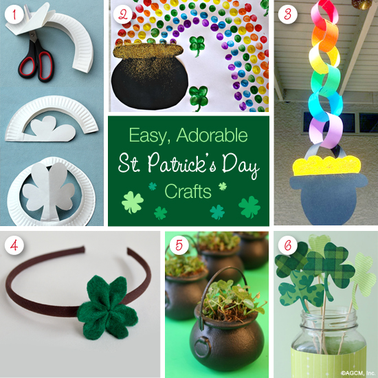 Easy DIY St. Patrick's Day Crafts