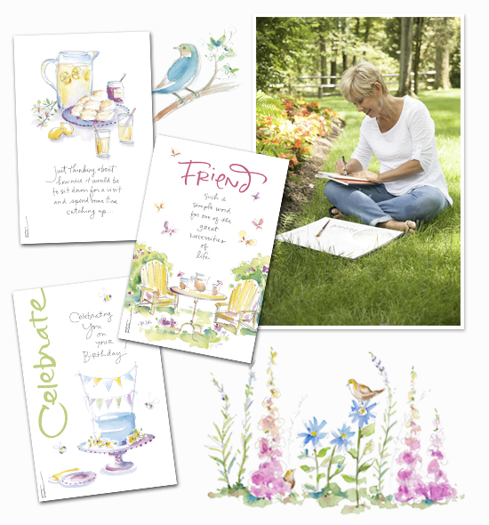 Summer - time for friends! By Kathy Davis | American Greetings Blog
