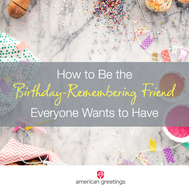 How to remember birthdays