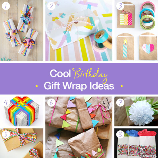 Birthday Gift Wrapping Ideas