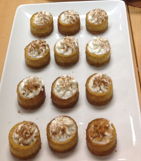 Mini Pumpkin Cheesecake Recipe from Maria Isabella