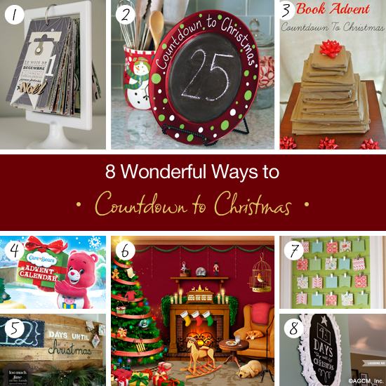 8 wonderful ways to countdown to christmas - Countdown Till Christmas Decoration