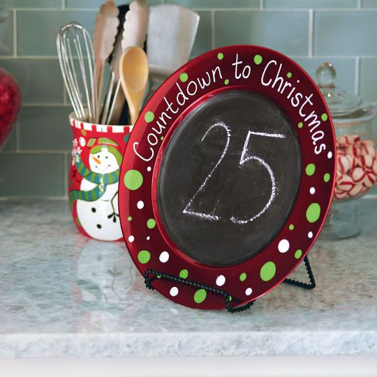 charger plate craft ideas countdown calendar ideas american greetings 3518