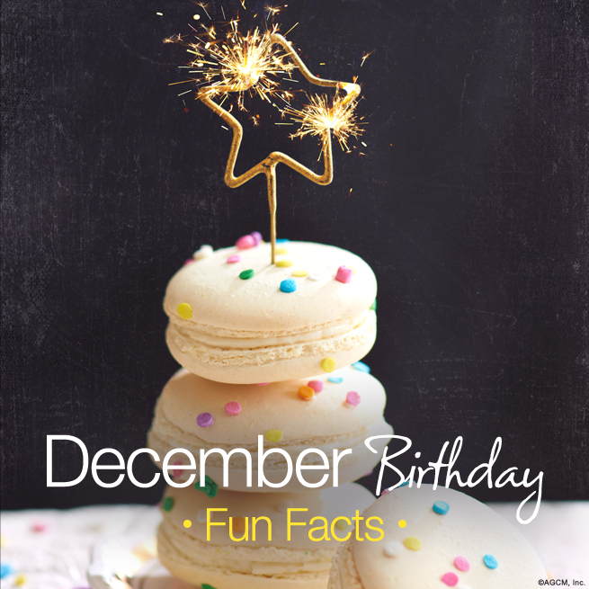 December Birthday Fun Facts American Greetings Blog