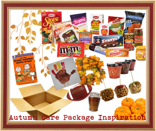 Autumn Care Package Ideas for Veterans Day