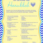 A free printable Hanukkah game