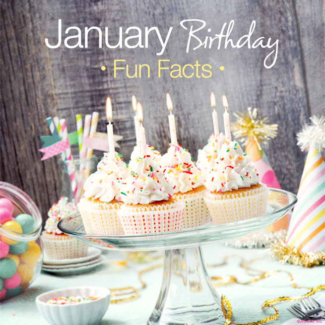 January Birthday Fun Facts