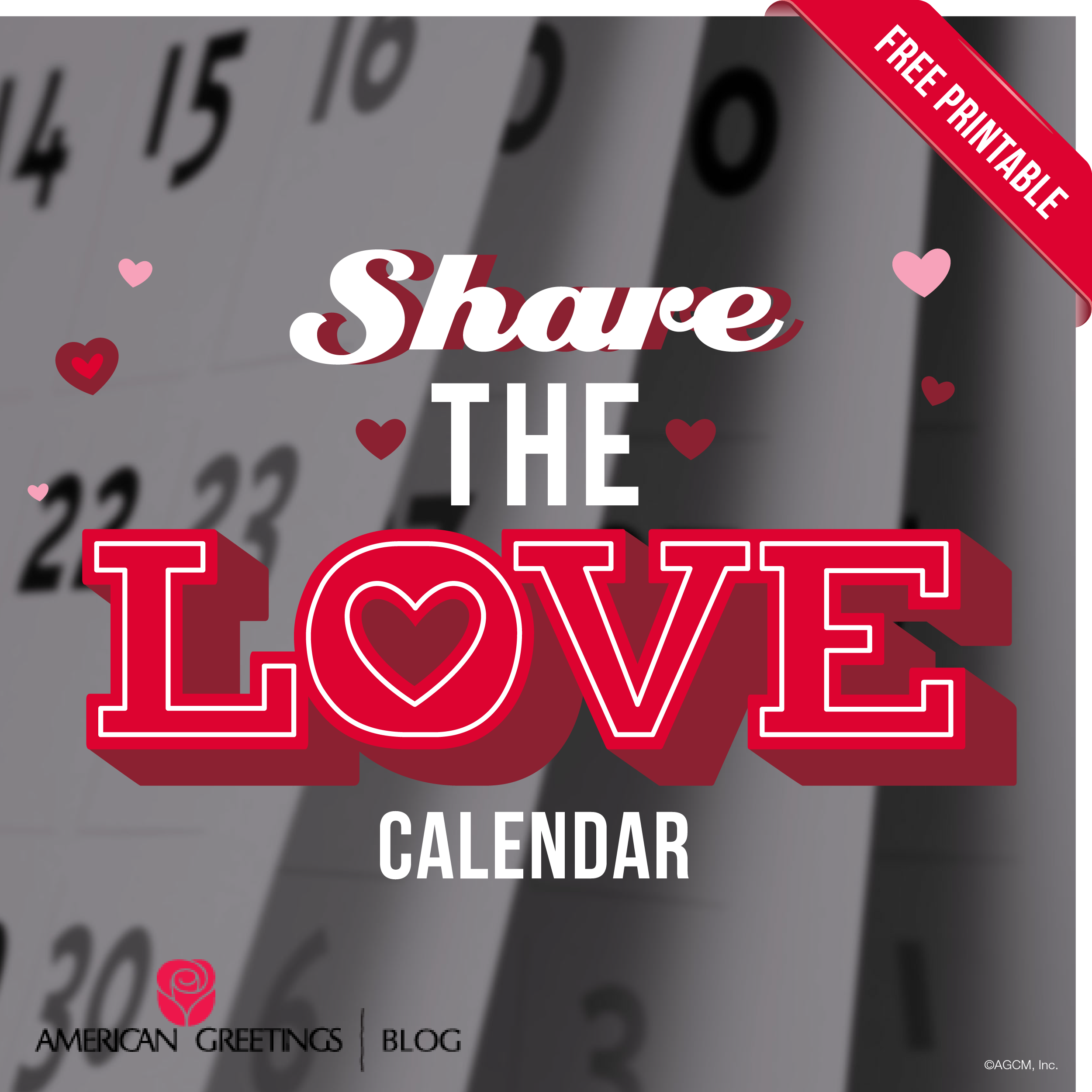 Printable Valentines Day Calendar American Greetings