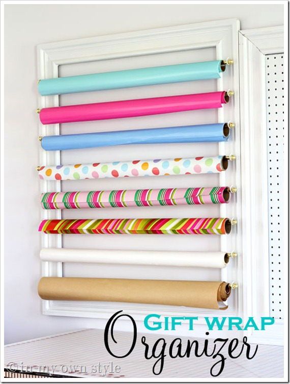Gift Wrap Organizer By In My Own Style