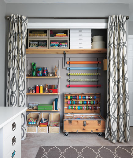 Craft Closet by Real Simple