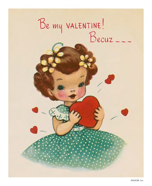 Vintage valentine cards archives american greetings blog sweet vintage be my valentine m4hsunfo