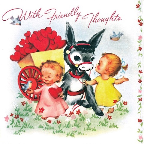 Vintage Valentines Day Cards American Greetings Blog – Friendly Valentine Cards