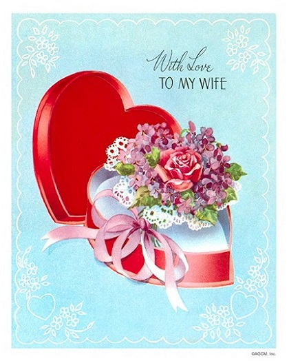 Vintage Valentines Day Cards American Greetings Blog – Valentine Day Cards for Wife