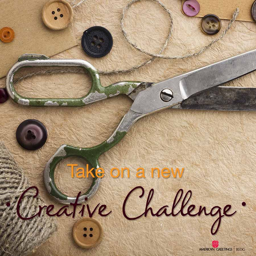 Take on a new creative challenge