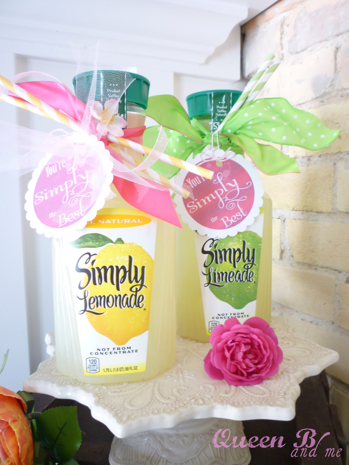"""Simply The Best"" Lemonade Tags by Queen B & Me"