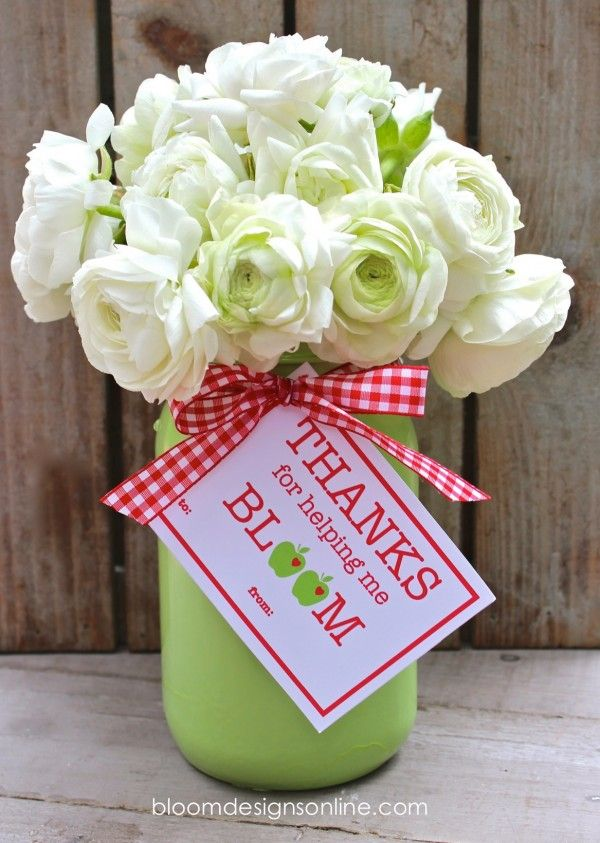 Teacher Appreciation Blooms by Bloom Designs Online / Skip To My Lou