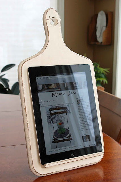 Kitchen Tablet Holder by Mamie Jane
