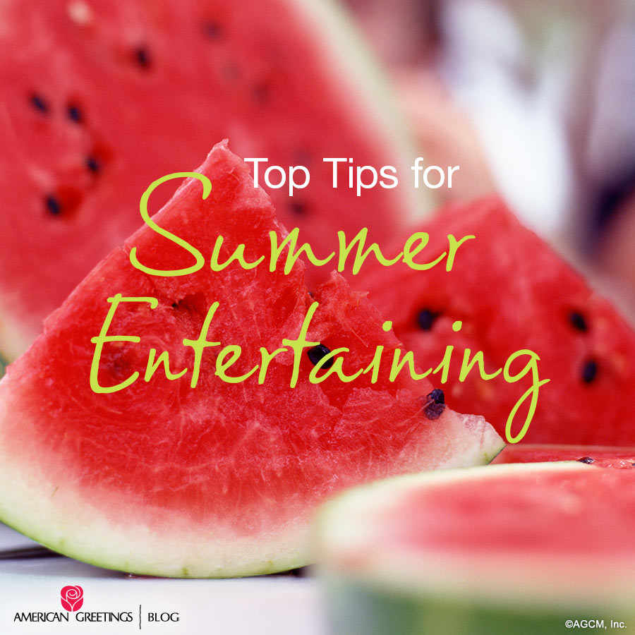 Top Tips for Summer Entertaining