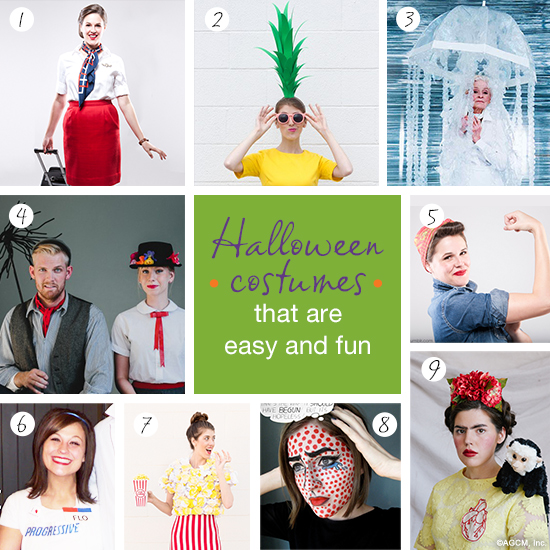 Easy Halloween Costumes for Adults