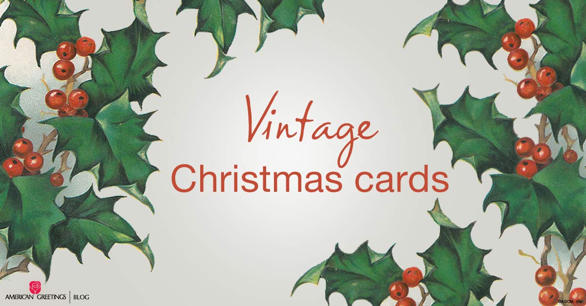 Vintage Christmas cards - American Greetings archives