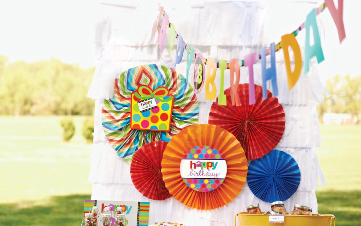 Rainbow Birthday Party Ideas 4