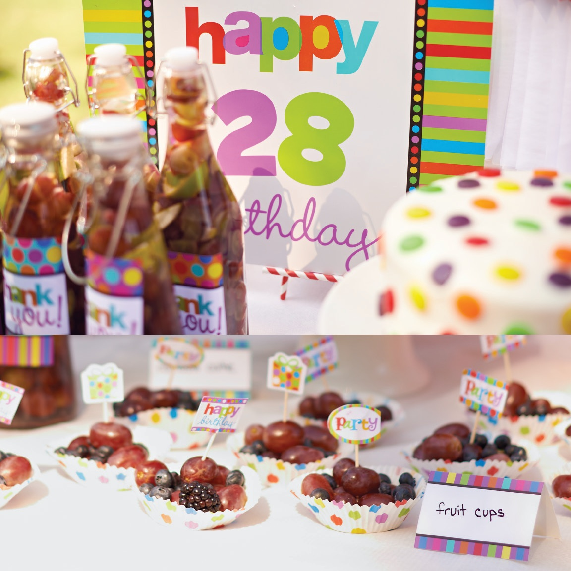 Rainbow Birthday Party Ideas 7