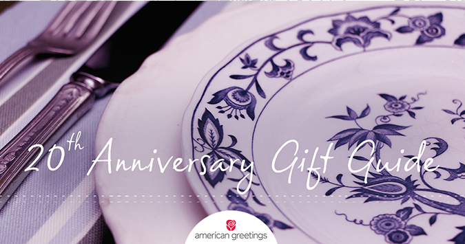 20th anniversary gift guide