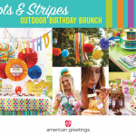 Rainbow birthday party ideas: a bright and sunny brunch!