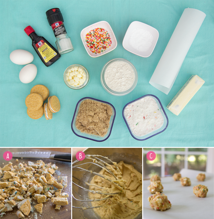 Birthday cake cookie recipe