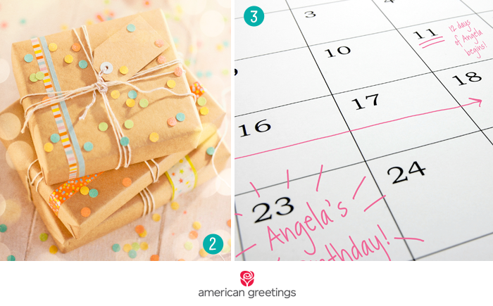 Round-the-clock gifting - 7 birthday surprise ideas