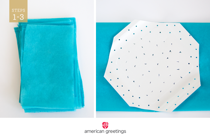 How to make a tissue paper backdrop