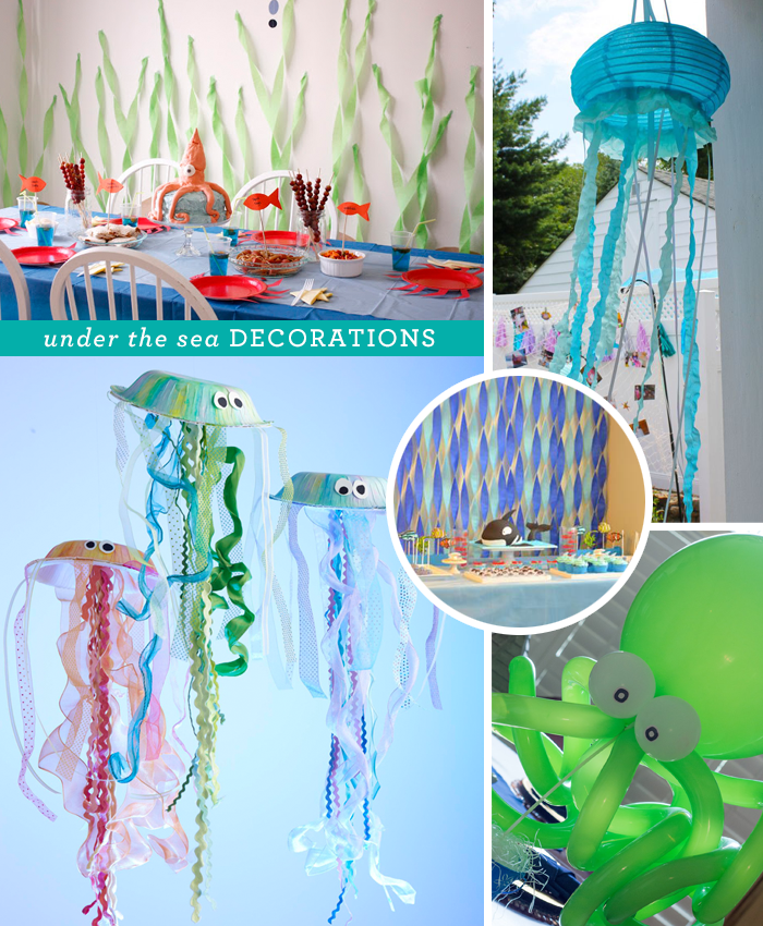 How to create an Under the Sea themed birthday party