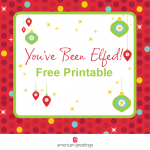 Time to Elf!  (Free Printable)