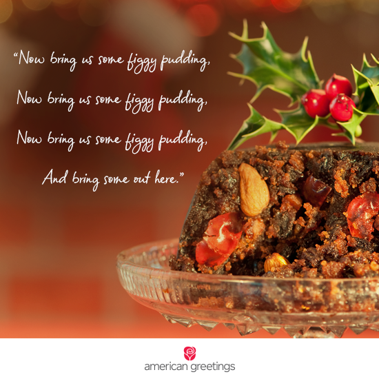 Figgy Pudding Recipe