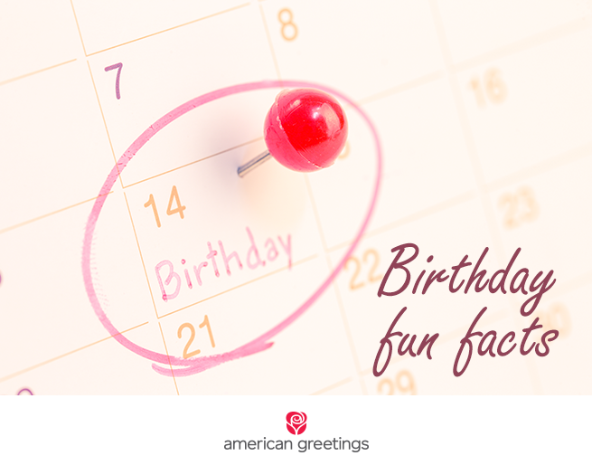 Birthday fun facts