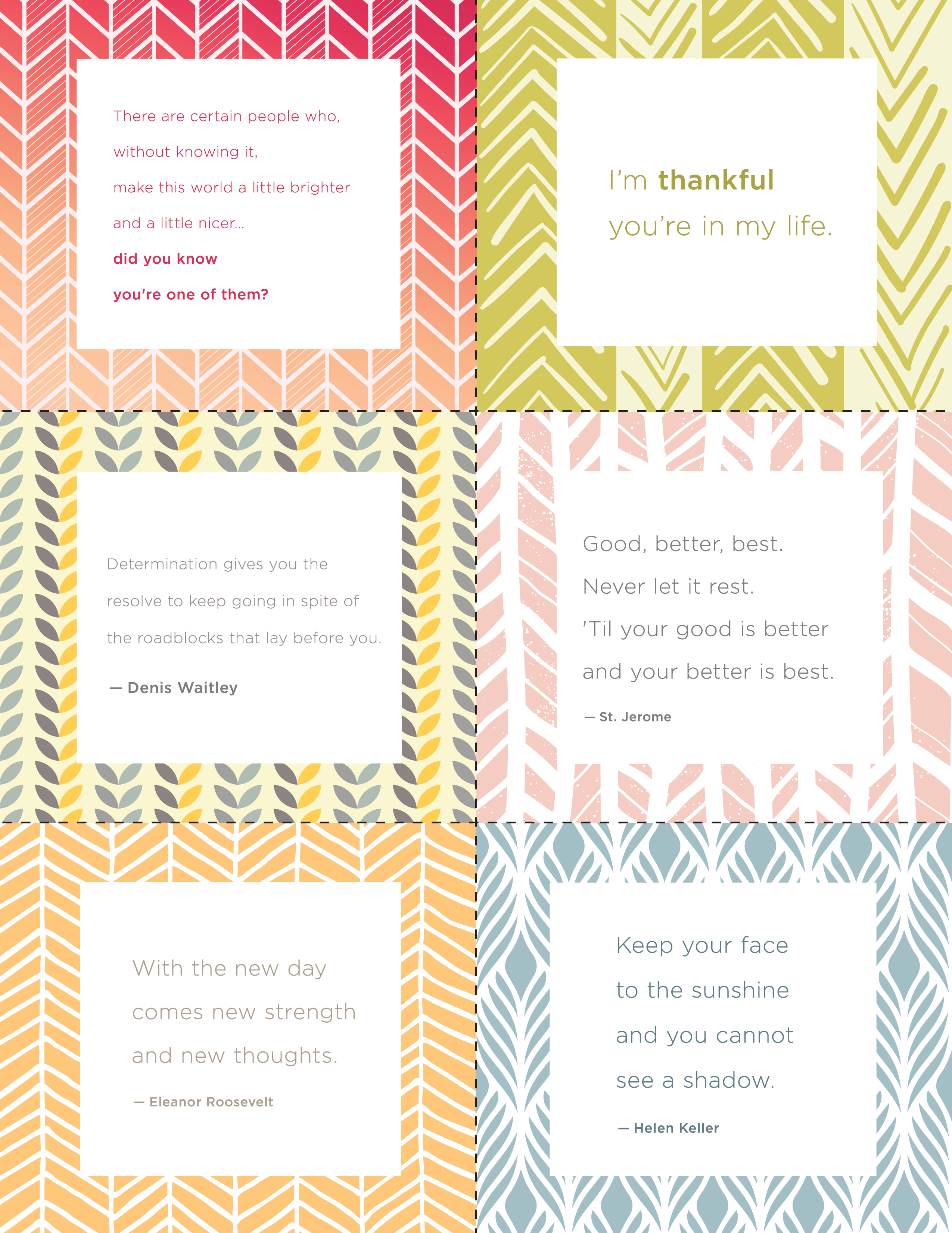 Printable Inspiration Quotes