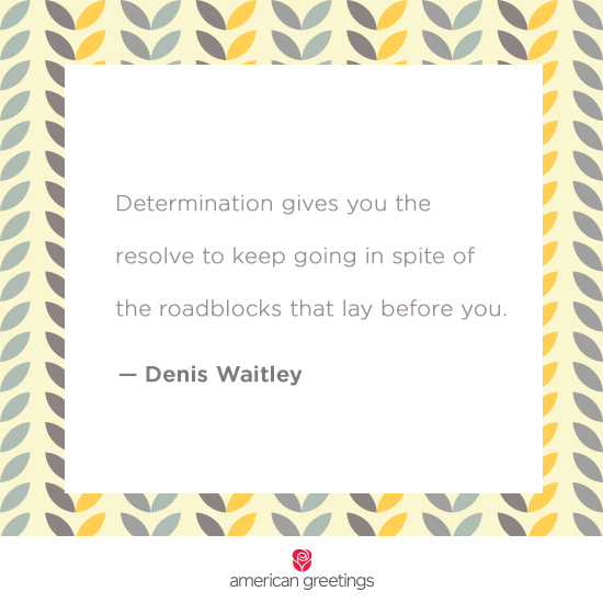 Determination quote - Printable