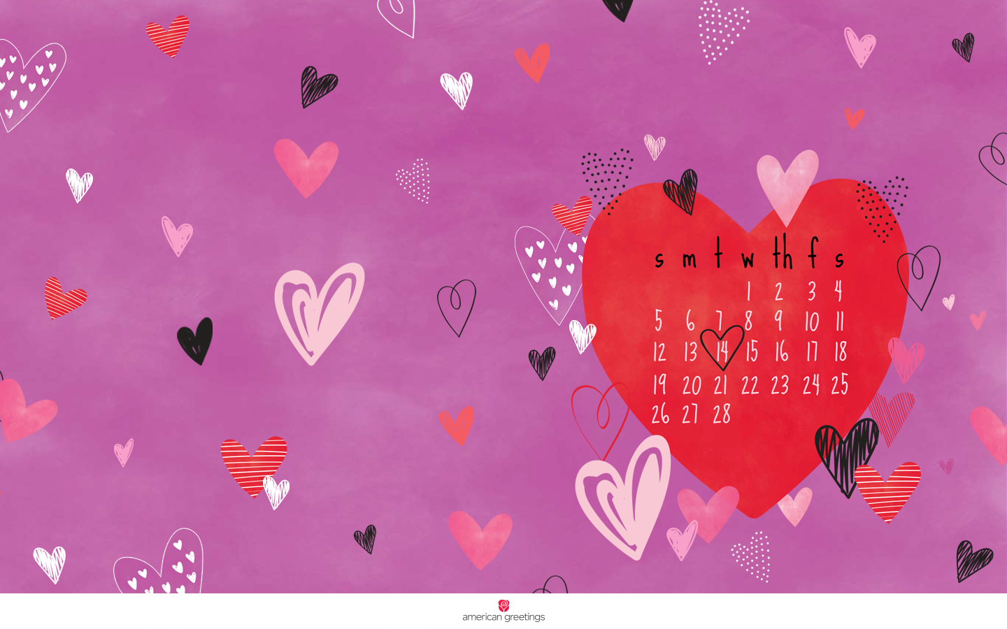 happy february free desktop mobile backgrounds