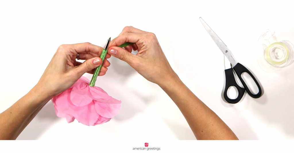 AG_FB_LINK_Tissue_Paper_Flower_Finish_Pen