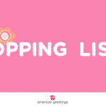 Printable Mother's Day Shopping List