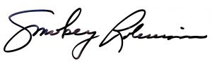 Smokey Robinson signature