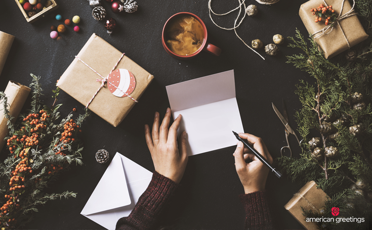 Cultivate gratitude and put pen to paper - 5 Ways to Lose the Lonely and Make Your Holiday Happy