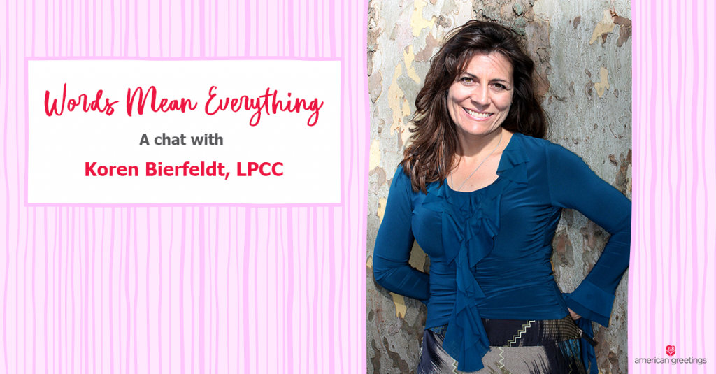 A Chat with Koren Bierfeldt, LPCC