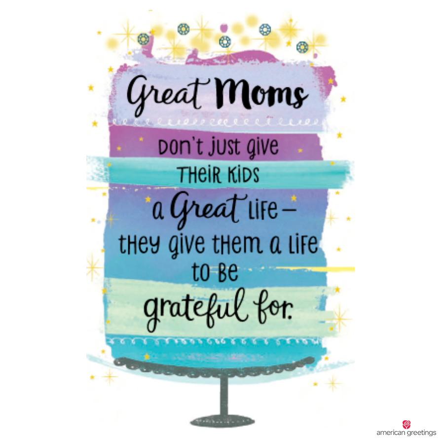 Grateful for Mom Card