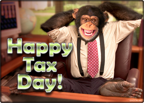 Happy Tax Day from American Greetings.