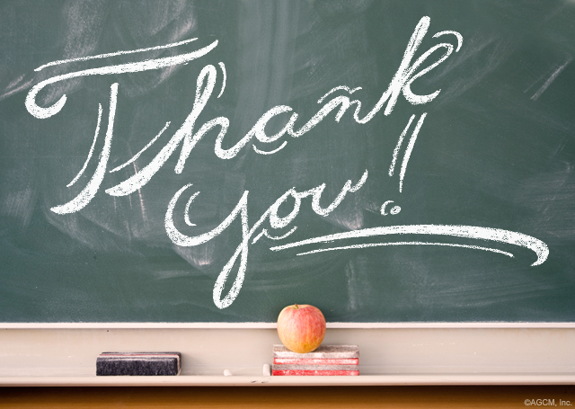 Special Thanks to Teachers from StayInspired365.com