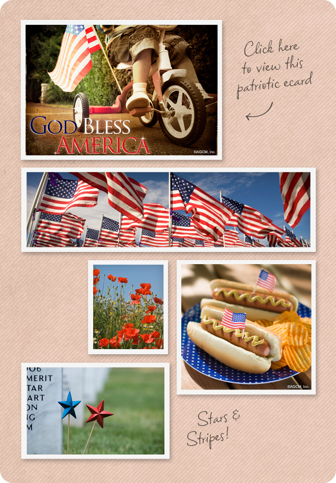Memorial Day mood board from StayInspired365.com