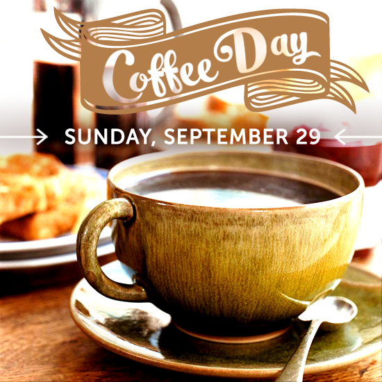 Celebrate Coffee Day!
